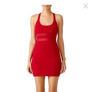 Jay godfrey red Perot dress rent the runway